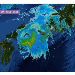 カブ隊舎営は台風11号接近により順延しました