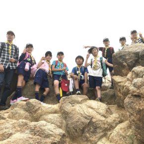 荒地山-風吹岩-金鳥山 ハイキング